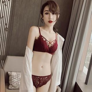 c5a61ee66 Girl Bras sexy Bra Underwear Push Up bra and panty set women Underpants  briefs | Shopee Malaysia
