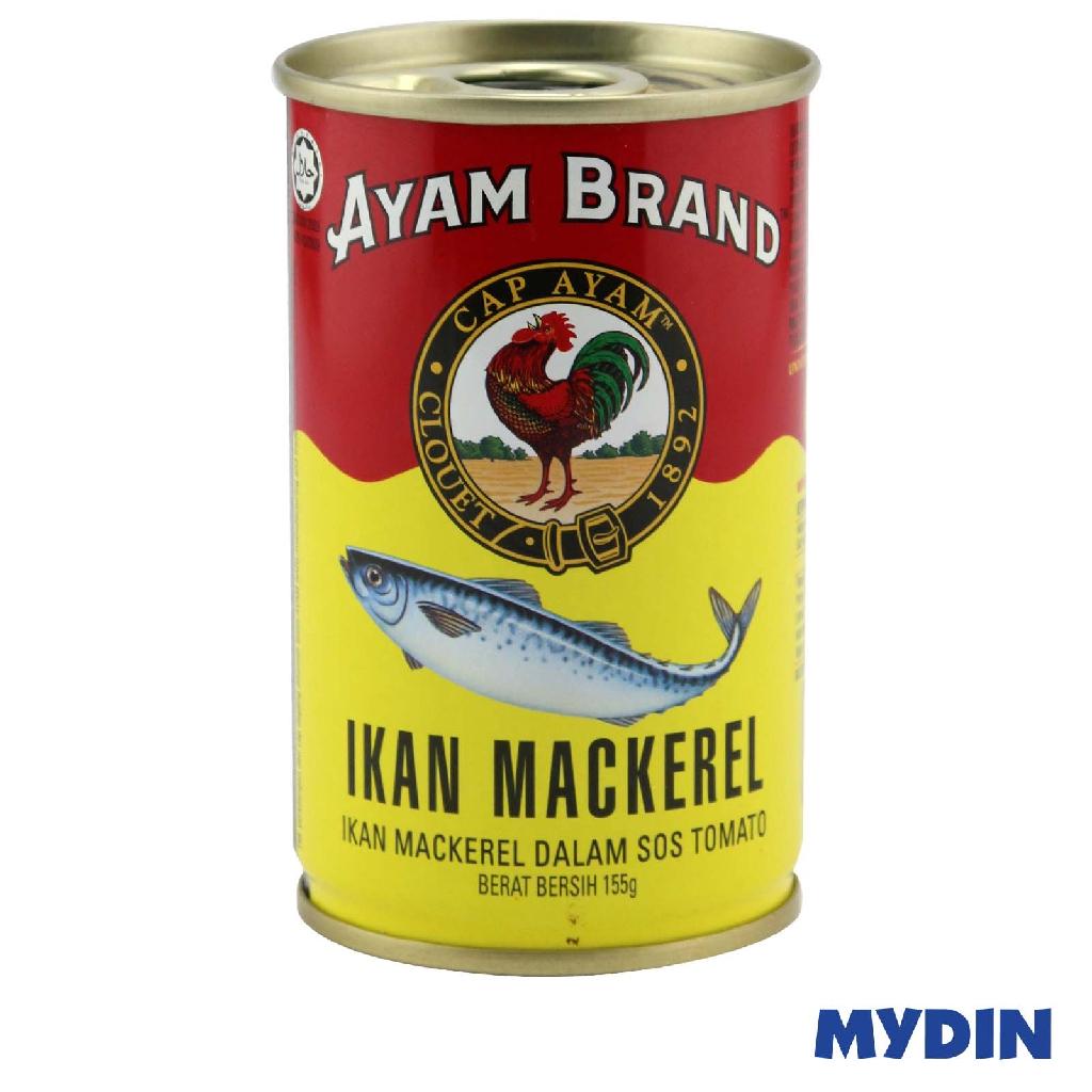 Ayam Brand Mackerel in Tomato Sauce (155g)