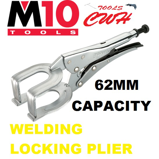 "WEC-280 11"" M10 WELDING LOCKING PLIER PLIERS"