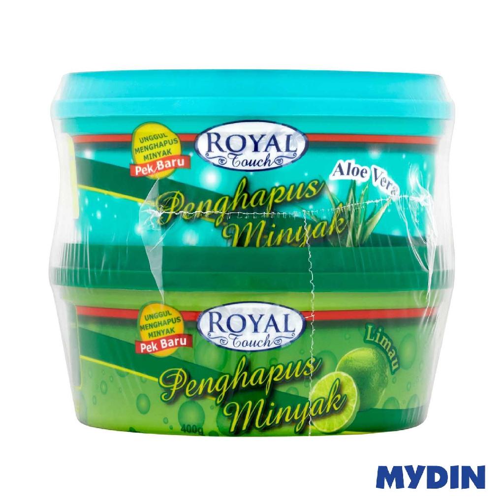 Royal Touch Dishwashing Paste Aloe Vera & Lime TwinPack (2 x 400g)