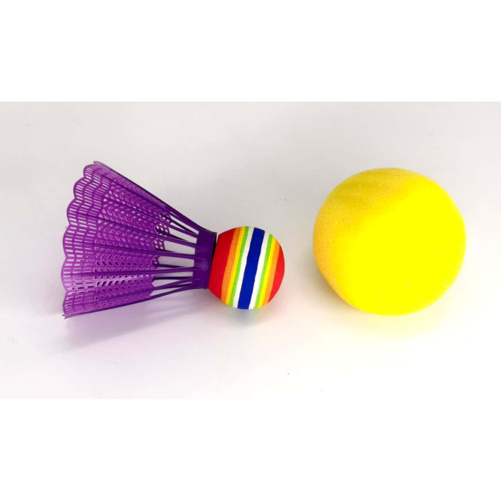 BADMINTON PLAY SET FOR KIDS (OUTDOOR SPORT) FUN EDUCATIONAL TOYS AND GAME FOR GIRLS AND BOYS