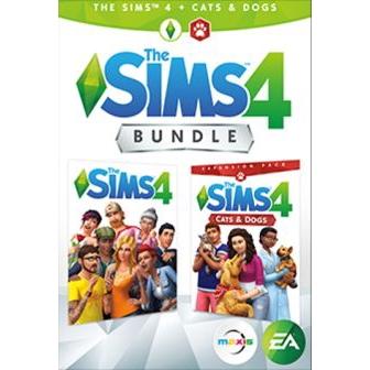 The Sims 4 Plus Cats & Dogs Bundle Origin Key GLOBAL