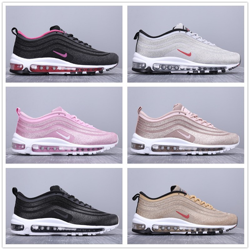 super cute buy good new york Women's Running Shoes Nike Air Max 97 3M Fashion Sneakers Wholesale Sport  Shoes