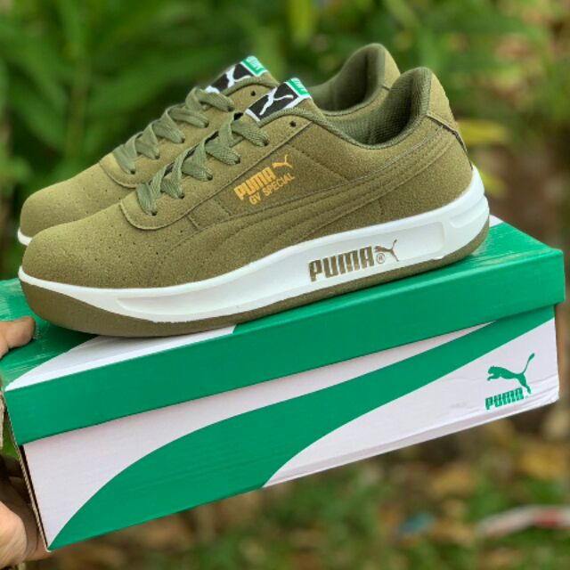 first rate 48804 f9337 Puma GV Special Green/Black