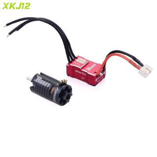 RC Motor Rocket V2 Mini 1410 2500KV Brushless Motor 2mm Shaft with 18A Brushless ESC Electric Speed Controller ESC Motor Combo for Kyosho Mr03 Atomic DRZ 1//24 1//28 1//32 RC Car Black