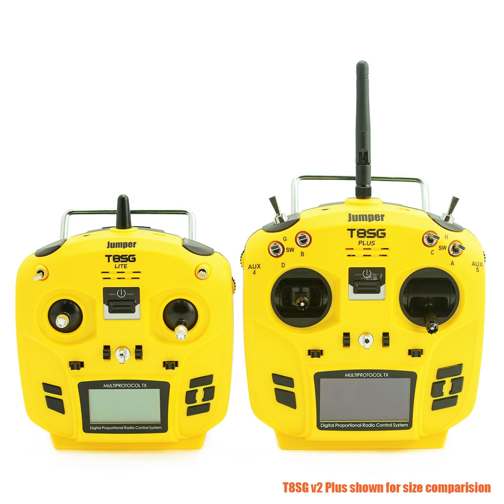 Jumper T8SG Lite 12CH S-FHSS DeviationTX Compact Radio Transmitter  Multi-Protoco