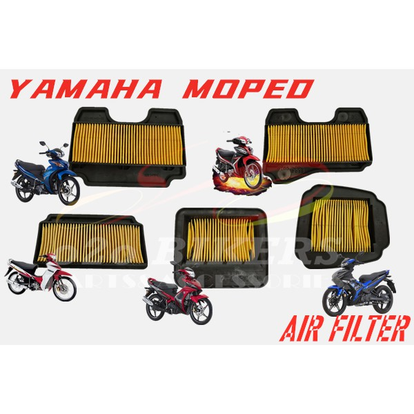 HIGH QUALITY MOTORCYCLE YAMAHA MOPED Y15ZR LC135 SRL110 LAGENDA 115 FI  Y15 SERVISE FILTER ELEMENT AIR FILTER CLEANER