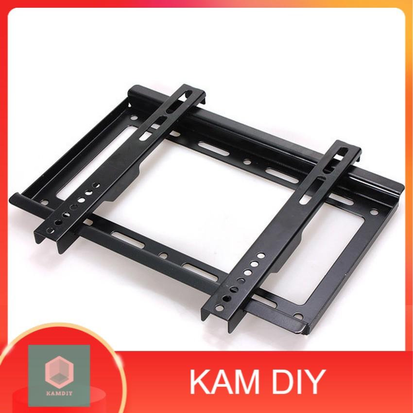 LCD LED PLASMA SLIM FIXED TV BRACKET WALL MOUNT FLAT PANEL BRACKET HOLDER 14 UNIVERSAL
