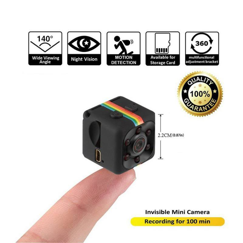 SQ11 Mini Camera DV Micro Sport Camera Car DVR Video Night Vision Voice Recorder