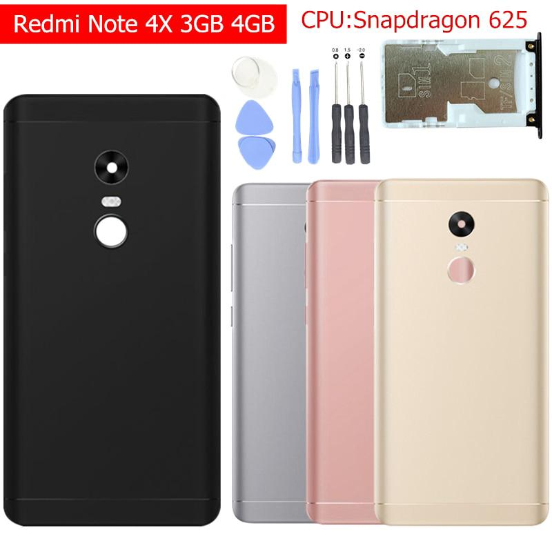 Xiaomi Redmi Note 4X 3GB 4GB Battery Back Cover Rear Back Door | Shopee Malaysia