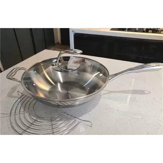 Tupperware Wok Pan Frying Pan TChef 4.2L 30cm
