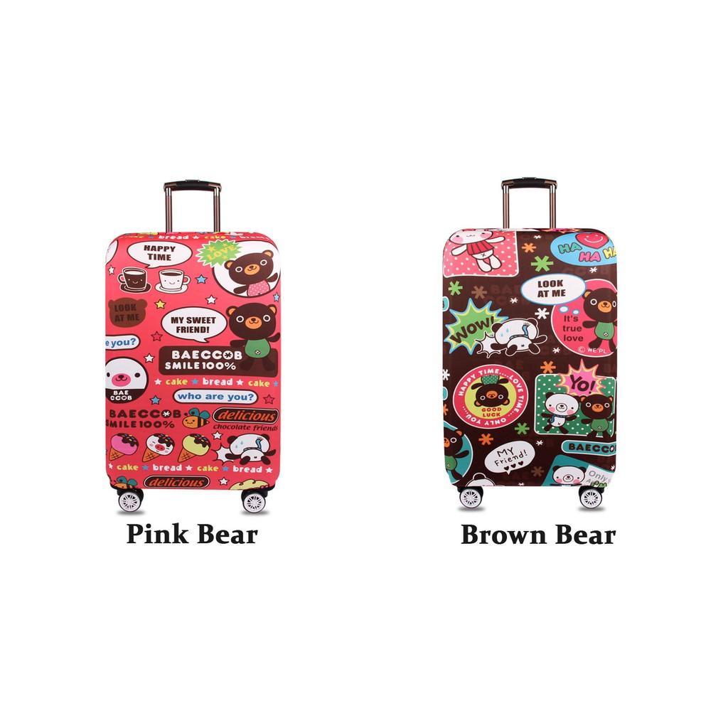 Brown Luggage Tag Shopee Malaysia Pikachu