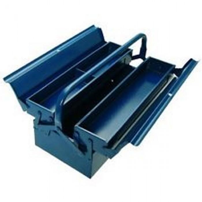HONG YU METAL TOOL BOX 2 LAYER ( BLUE COLOUR ) = JS072
