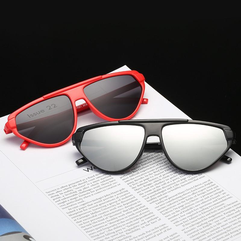 76f1e55959a4 Sunglasses Retro Red Women Yellow Men Small Metal Frame Round Glasses