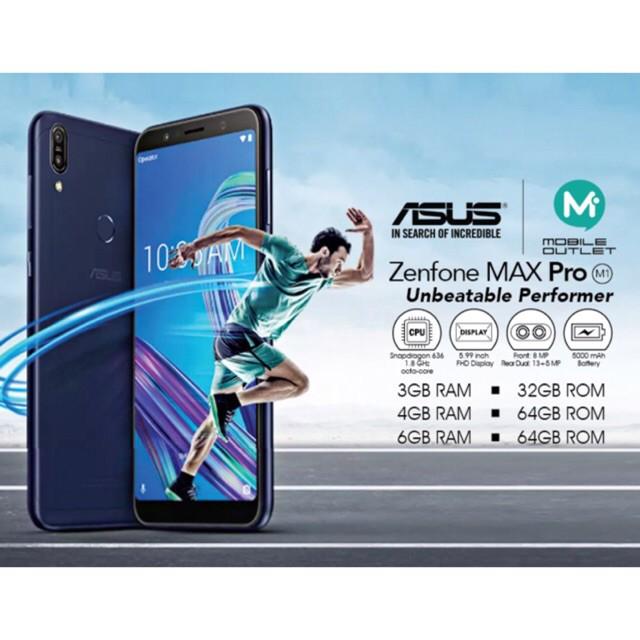 Asus Zenfone Max Pro M1 Price in Malaysia & Specs | TechNave