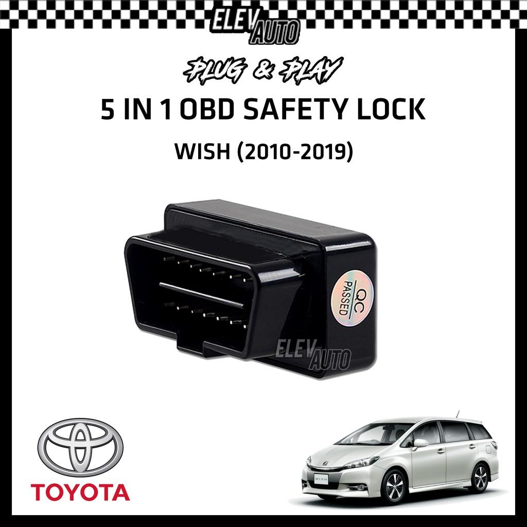 Toyota Wish (2010-2019) OBD Safety Lock (5 in 1)