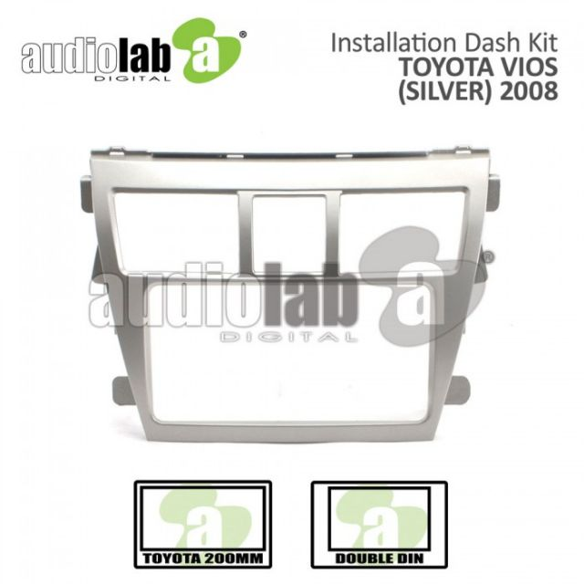 Player Casing Toyota Vios 2008-2012 ( Silver Gold )
