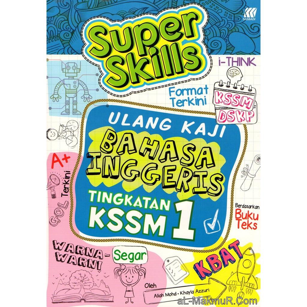 Myb Buku Nota Super Skills Ulang Kaji Tingkatan 1 Bahasa Inggeris Sasbadi Shopee Malaysia