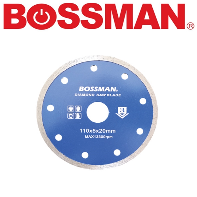 BOSSMAN B6027 CONTINUOUS CUTTING WHEEL DIAMOND CUTTING WHEEL GRINDING DISC ACCESSORIES EASY USE SAFETY GOOD QUALITY
