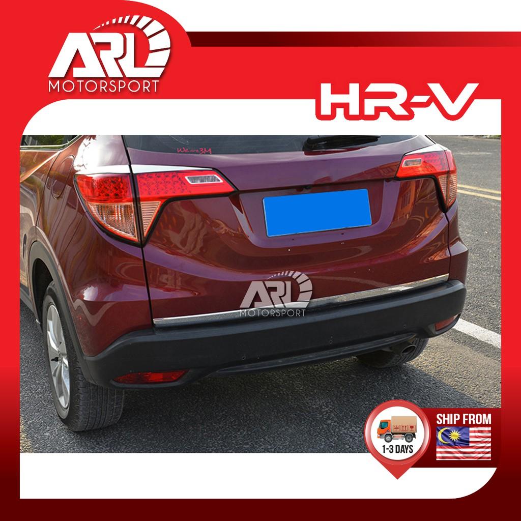 Honda HR-V HRV (2015-2020) Chrome Rear Bonnet Lining With Logo VEZEL ARL Motorsport