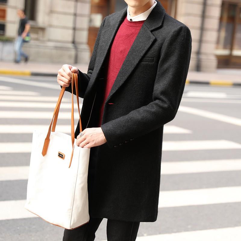 4bb3c62e0aa  Ready Stock 2017 new winter long wool coat men s thin style trench coat(11)