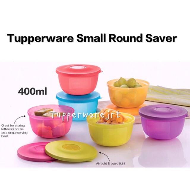 Tupperware Small Round Saver 400ml x 1pc