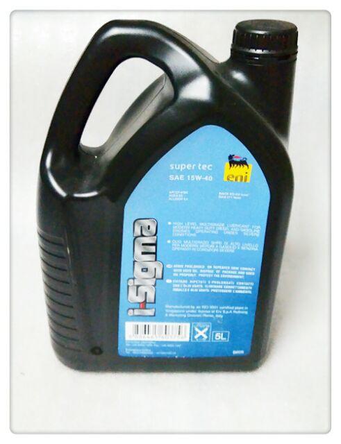 I-SIGMA SUPER TEC 15W-40 eni DIESEL Engine Oils