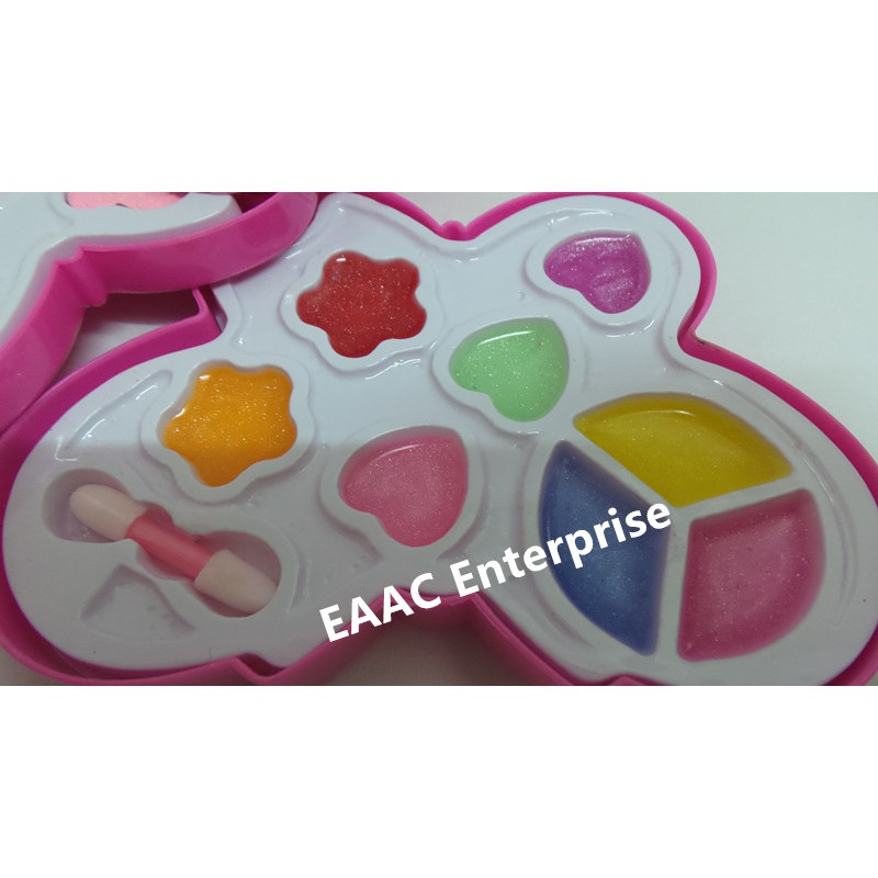 Butterfly Washable Beauty Make Up Set Cosmetic Set- A toy for kids