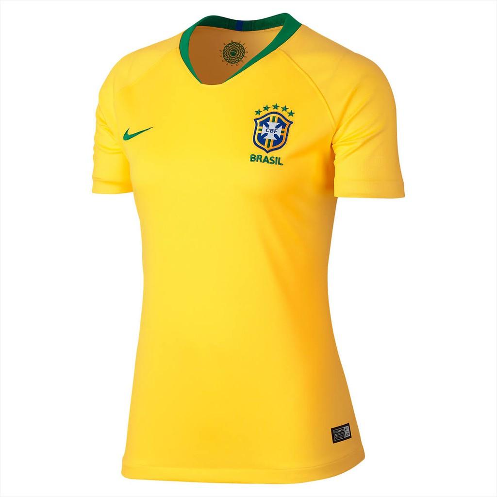 Brazil Women CBF Stadium Home World Cup 2018