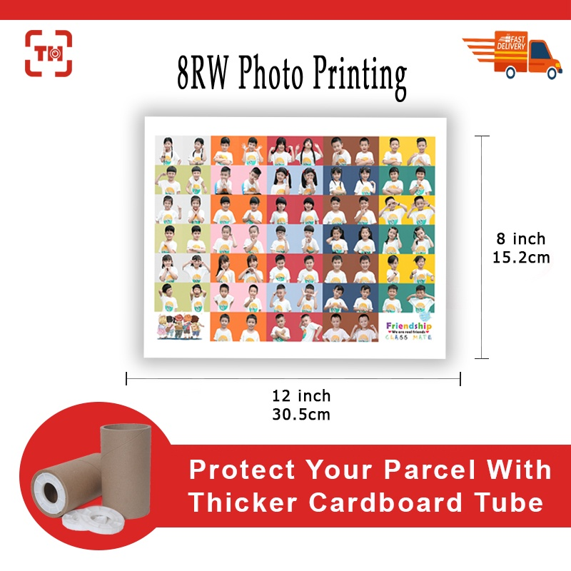 8RW (8x12inch) High Quality Photo Printing (Glossy/Matt)/Digital photo printing