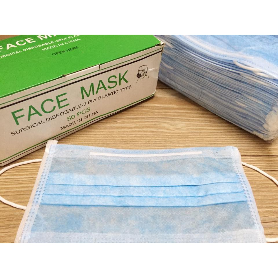 face mask disposable surgical