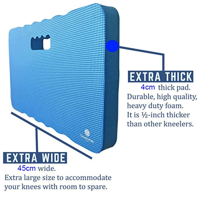 Garden Kneeler Cushion Extra Large//General Size Lightweight Waterproof Durable