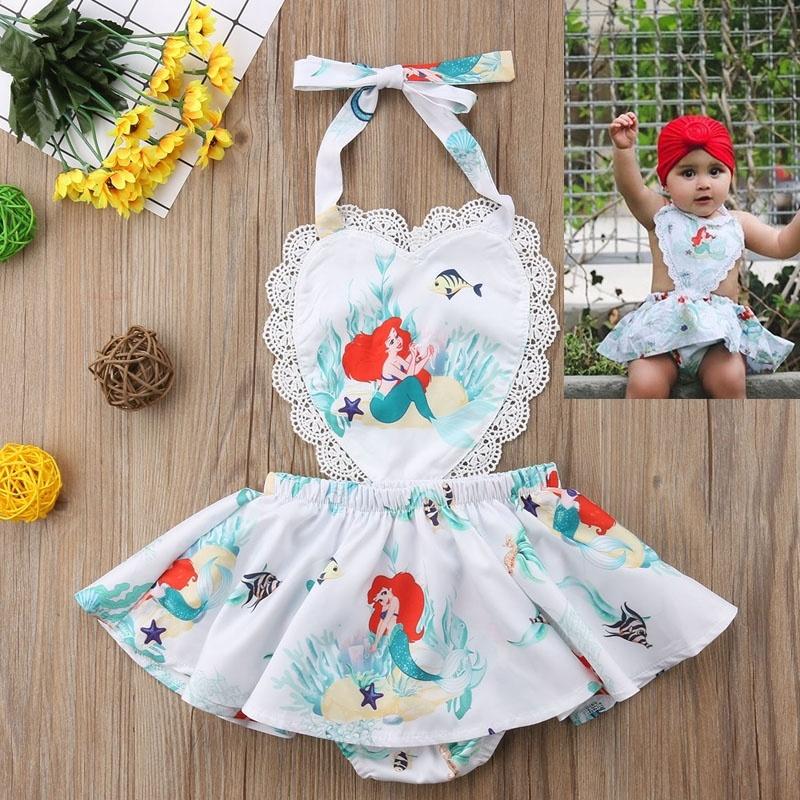 8a6e13a47 EME-US Newborn Kids Baby Girl Unicorn Tops Dress Shorts Outfits Set ...