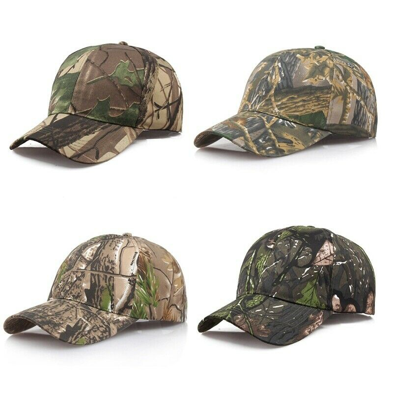 99313dbd970a2 Camo Camouflage Army Military Hat Outdoor Hunting Baseball Cap Soldier  Combat Sun Hat | Shopee Malaysia