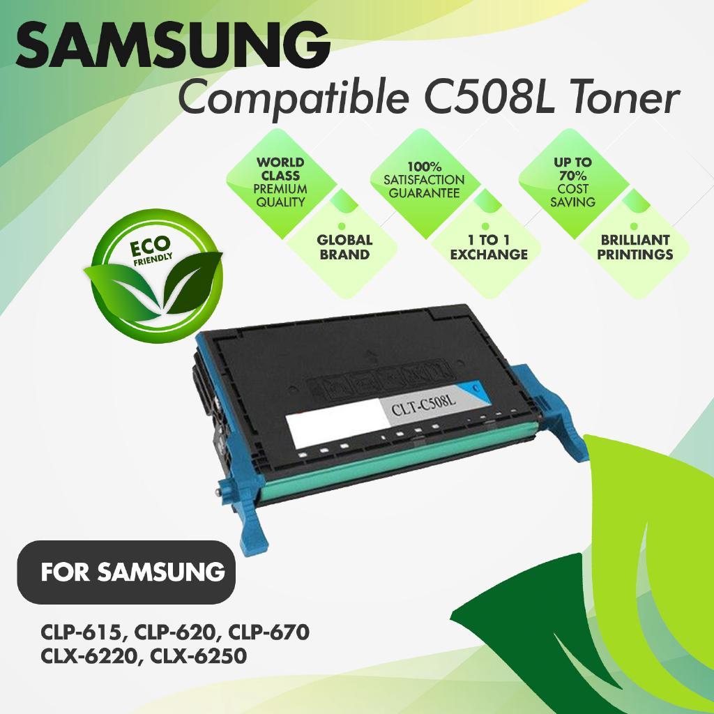 Black Toner for Samsung CLP-620nd 620 670nd CLX 6220fx 6250fx 6220 CLT-K508L