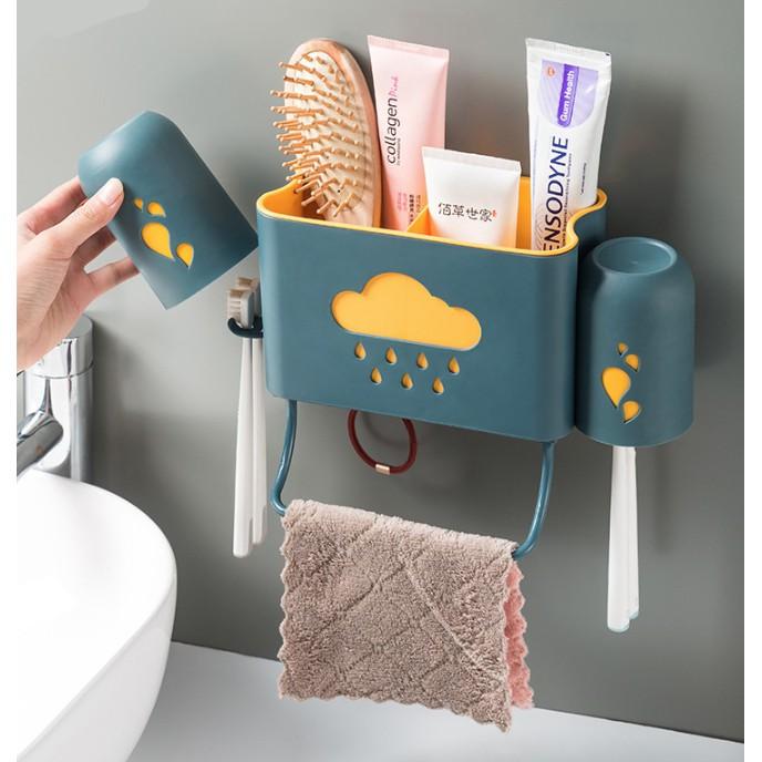Bathroom No trace Storage Racks Plastic Bath Kitchen Corner Wall Storage Organizer Toiletries Shower Shelf
