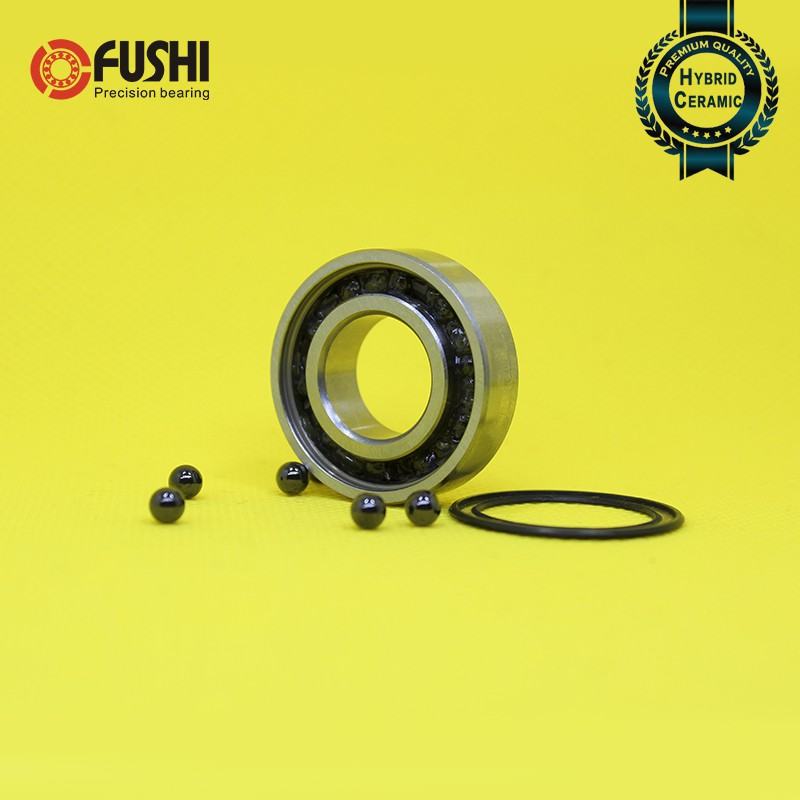 17x35x10 mm Hybrid Ceramic Si3N4 Rubber Sealed Ball Bearings 4 PCS 6003-2RS