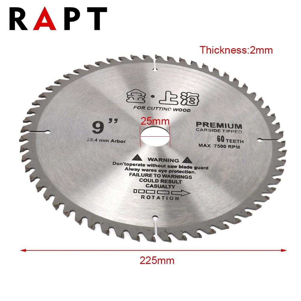 "20mm Bore 2x 9/"" 40T Tungsten Carbide Tipped Circular Wood Cutting Saw blade 1/"""