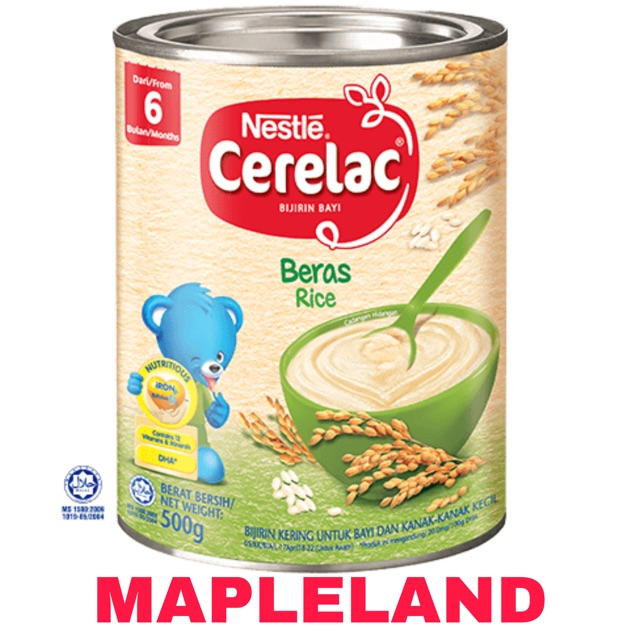 Bijirin Nestle Cerelac Beras Gandum Madu 500g Shopee Malaysia