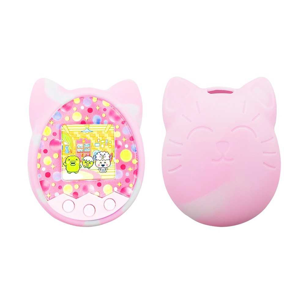 Great Discount Protective Cover Shell Silicone Case Pet Game Machine Cover for Tamagotchi Cartoon Electronic Pet Game M