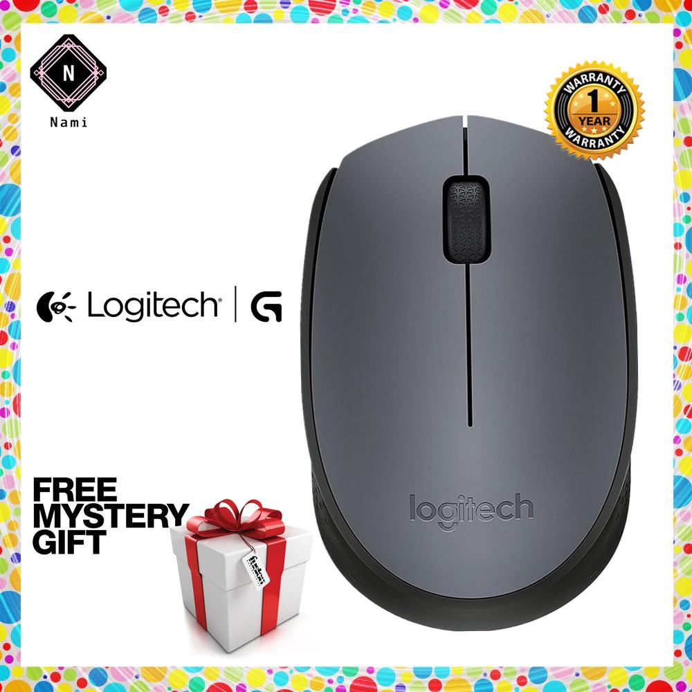 Genuine Logitech M170 Wireless Mouse Original - Grey (Double Bubble Wrap  Packing)