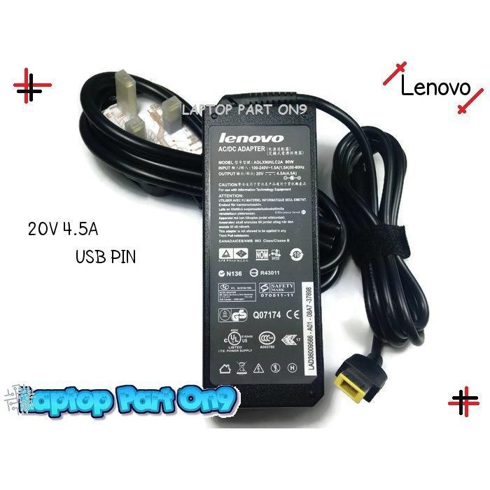 Lenovo G500 g500S G505 Laptop Adapter Charger 20V 4.5 (USB PIN)