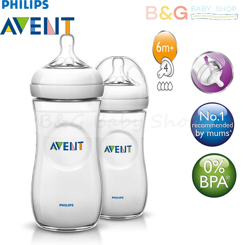 Loyal Philips Avent Natural 2.0 6m Teat Outstanding Features fast Flow