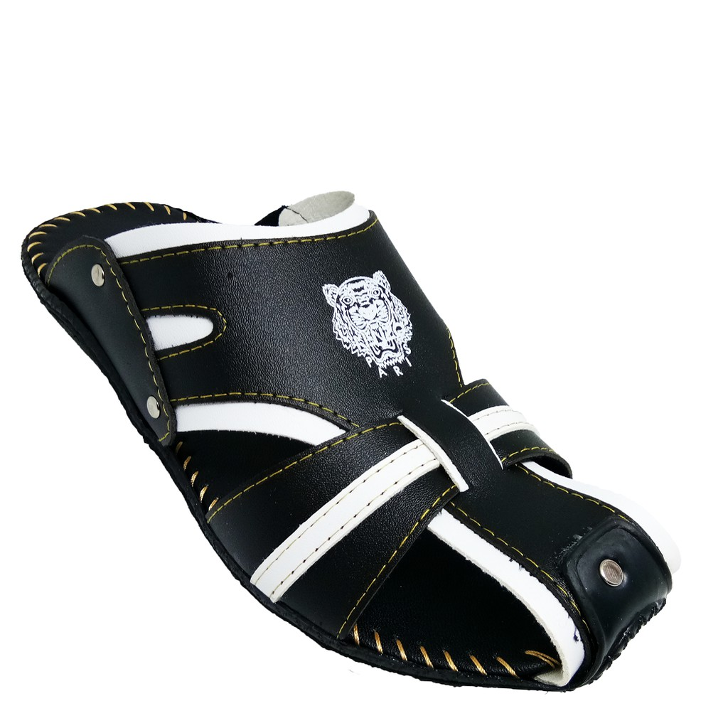 SHL Men Fashion Beach Malaysia Half Sandal Selipar Kasut Lelaki size 6-10【男士凉拖】-1109