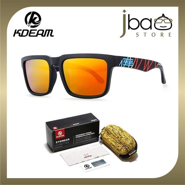 KDEAM Polarized Sunglasses Men Outdoor Sport Cycling KD901P-C23