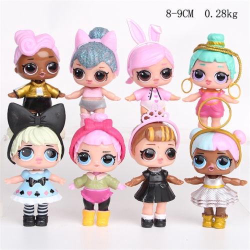 LOL Surprise Doll LIL SISTER GIRL Random 5PCS 1LOT FIGURE