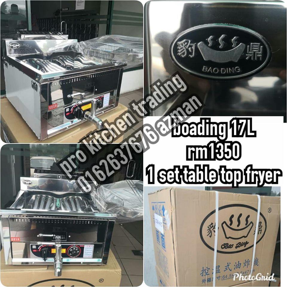 17liter Gas Automatic Original Boa Ding