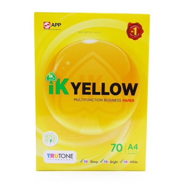 IK Yellow 70g A4 Paper - 450's