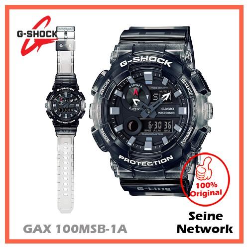 aa843fa584c CASIO G-SHOCK GAX-100MSB-1A WATCH [ORIGINAL]   Shopee Malaysia