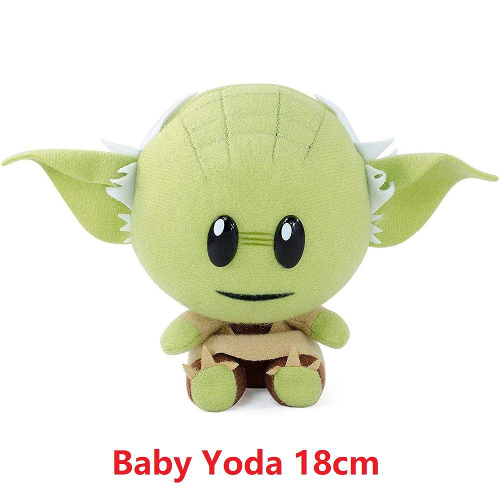 Unz 18cm Baby Yoda Plush Doll Soft Stuffed Animal Kids Birthday Gift Fans Toy Shopee Malaysia